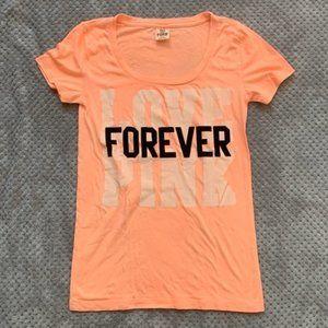 Victoria's Secret Pink Love Pink Forever T-shirt
